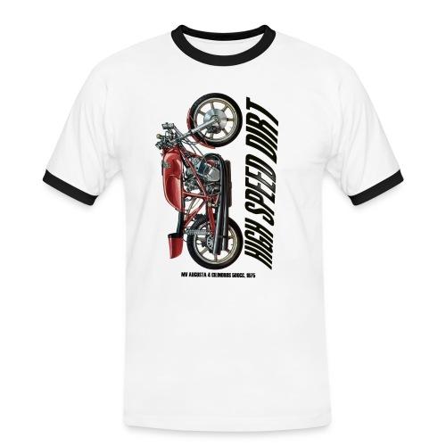 mv augusta 500cc copia - Camiseta contraste hombre