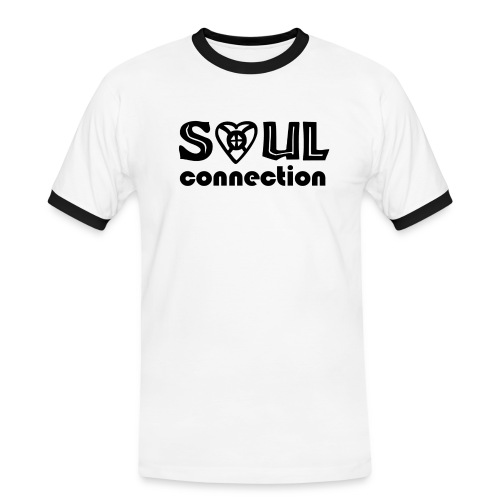 Soulconnection - Männer Kontrast-T-Shirt