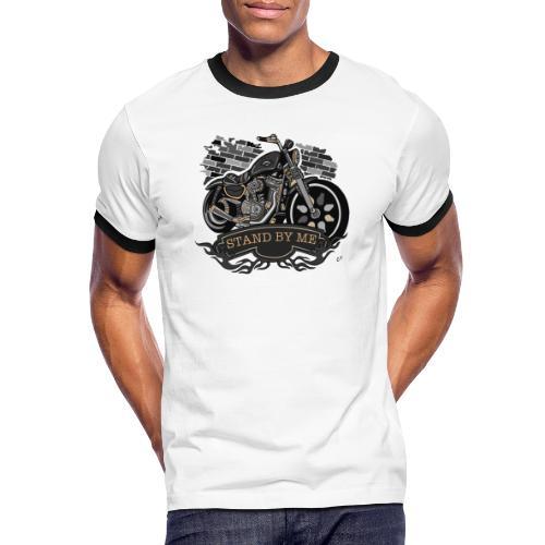 moto - Maglietta Contrast da uomo