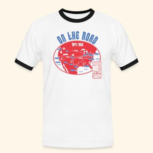 TShirtOntheRoad copy - Camiseta contraste hombre