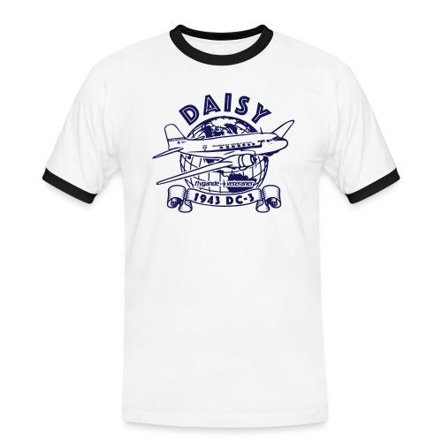Daisy Globetrotter 1 - Kontrast-T-shirt herr