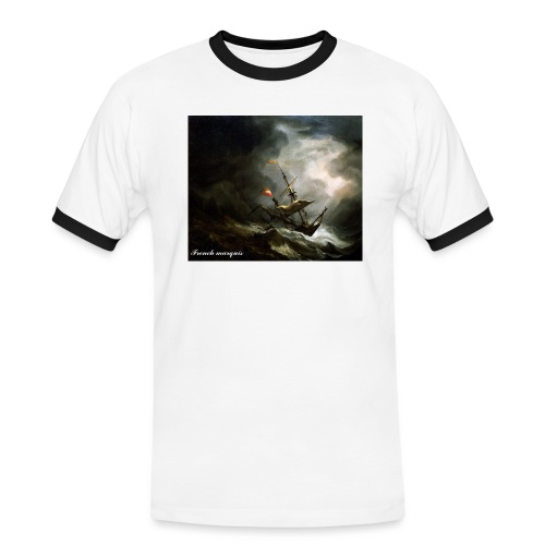 T-shirt French marquis Storm - T-shirt contrasté Homme