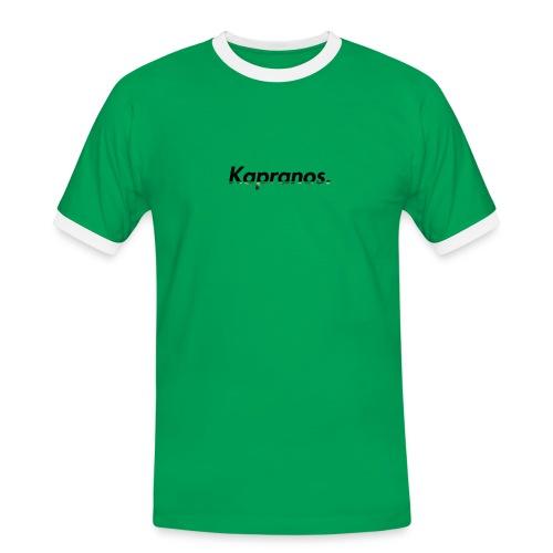 Kapranos Brand (Black / Camo) - Men's Ringer Shirt