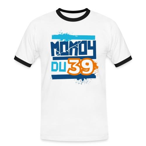 momoy39 - T-shirt contrasté Homme