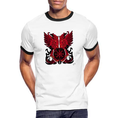 vikings - Maglietta Contrast da uomo