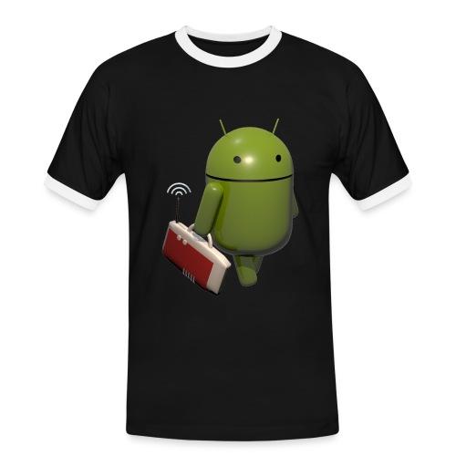 BoxToGo - Männer Kontrast-T-Shirt
