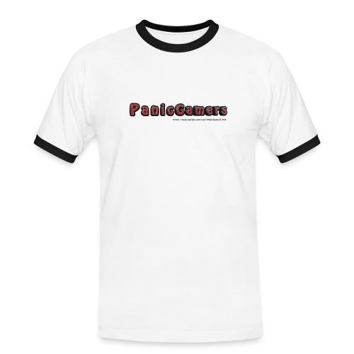 Cover PanicGamers - Maglietta Contrast da uomo
