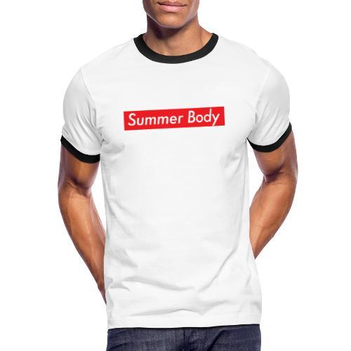 Summer Body - T-shirt contrasté Homme