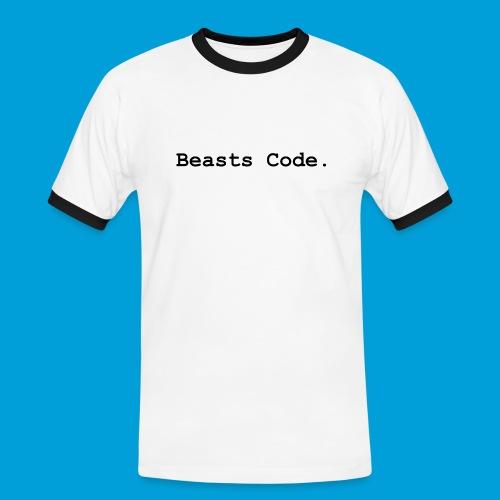 Beasts Code. - Men's Ringer Shirt