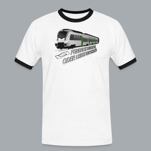 Pendeln - Männer Kontrast-T-Shirt