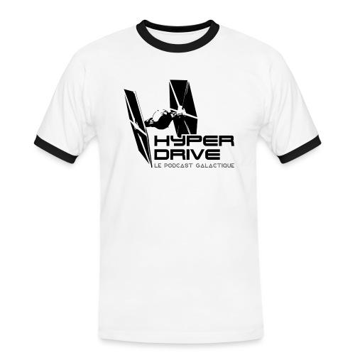 Hyperdrive - logo galactique - T-shirt contrasté Homme