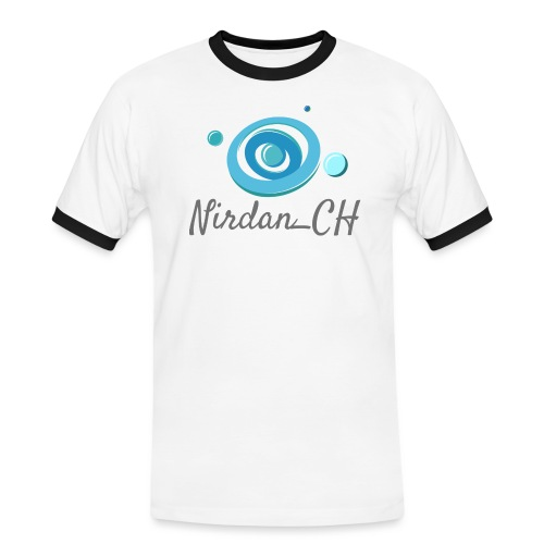 400dpiLogoCropped - T-shirt contrasté Homme