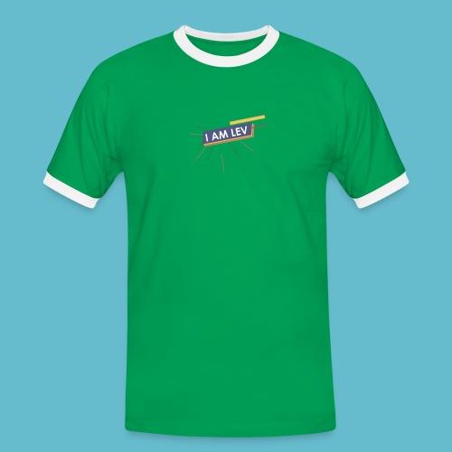 I AM LEV Banner - Mannen contrastshirt