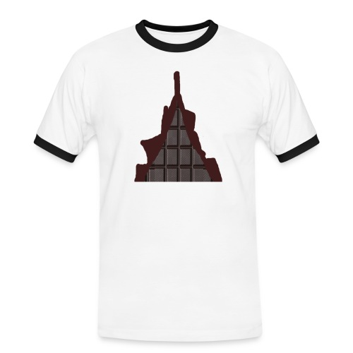 Vraiment, tablette de chocolat ! - T-shirt contrasté Homme