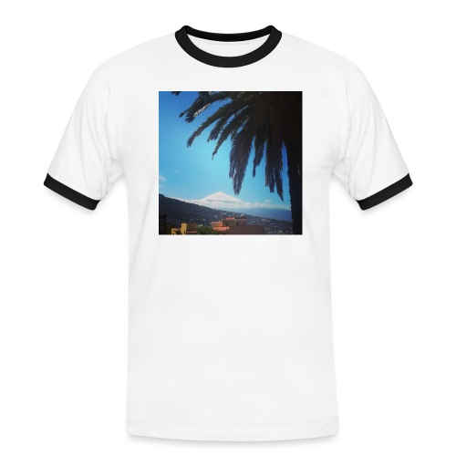 Islas Tenerife - Maglietta Contrast da uomo