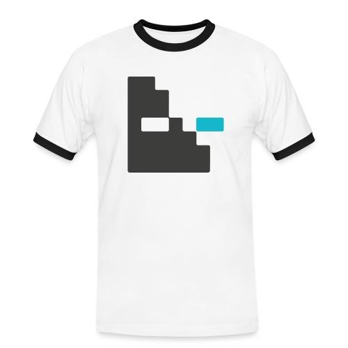 Mortu Logo - Mannen contrastshirt