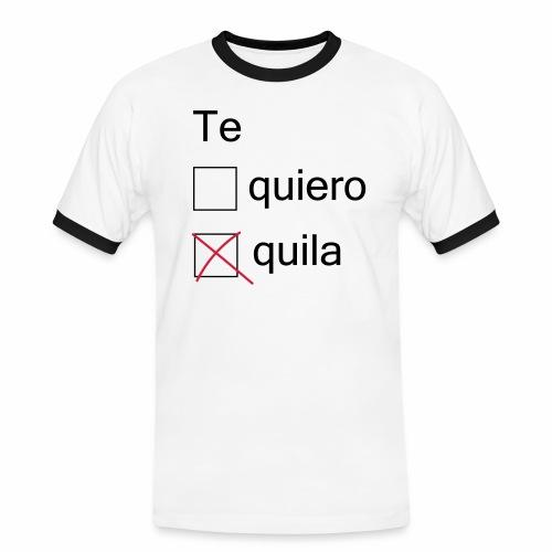 tequila - T-shirt contrasté Homme