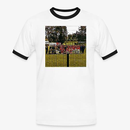 Footbal Match Squadre Calcio - Maglietta Contrast da uomo