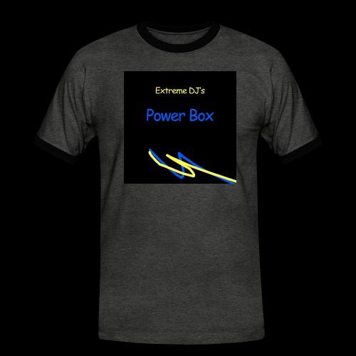 powerbox - Miesten kontrastipaita