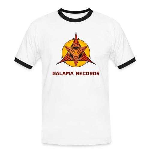 GALAMA Shirt - Männer Kontrast-T-Shirt