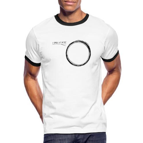 I ended up in pop - Männer Kontrast-T-Shirt