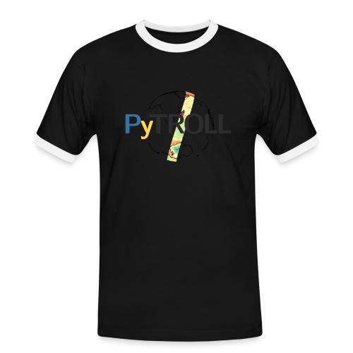 light logo spectral - Men's Ringer Shirt