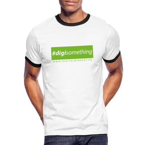 #digisomething - Männer Kontrast-T-Shirt