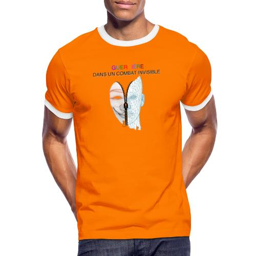 Guerrière dans un combat invisible 02 - T-shirt contrasté Homme