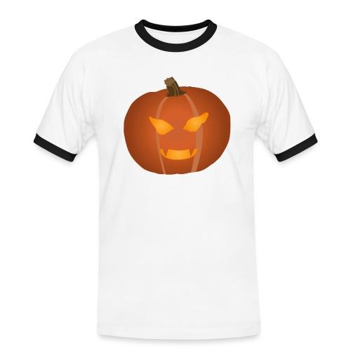 Pumpkin - Kontrast-T-shirt herr