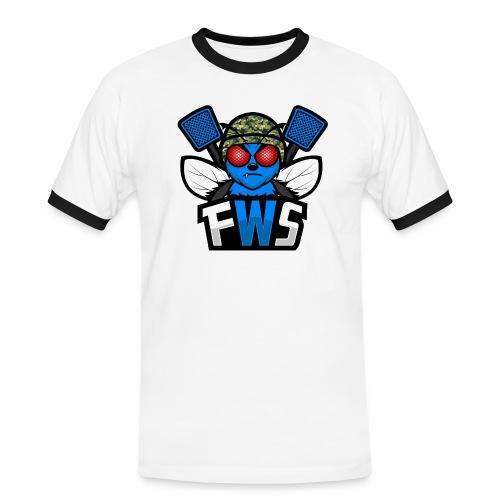 FWS Logo - Miesten kontrastipaita