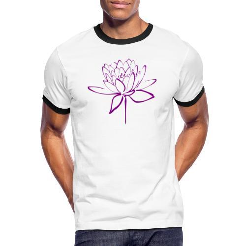 Lotus - T-shirt contrasté Homme