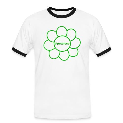 #petaloso - Maglietta Contrast da uomo
