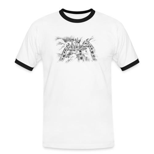 les girafes bavardes - T-shirt contrasté Homme