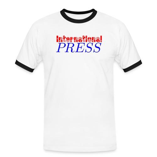 int_press-png - Maglietta Contrast da uomo