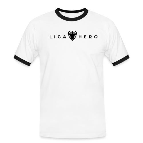 tshirt logo black png - Männer Kontrast-T-Shirt