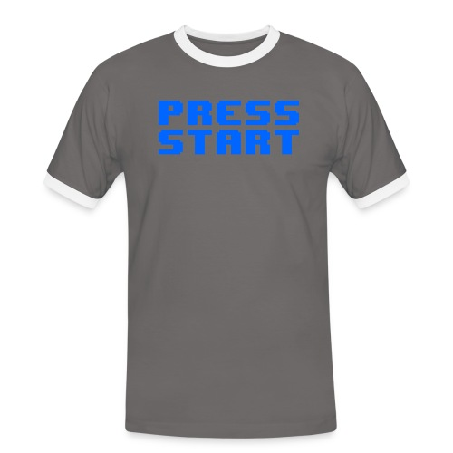 Press Start - Maglietta Contrast da uomo