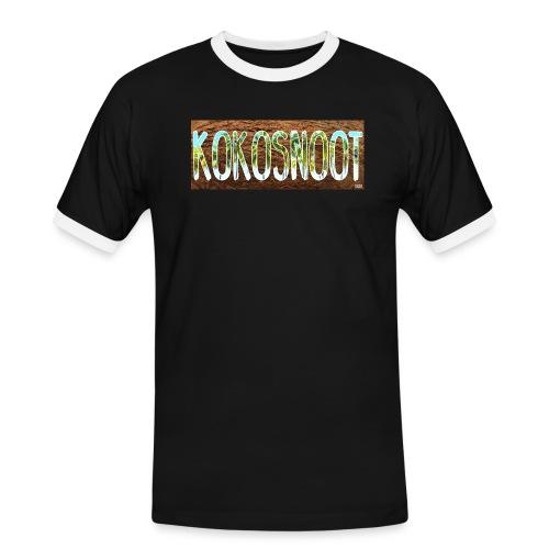 Kokosnoot - Mannen contrastshirt