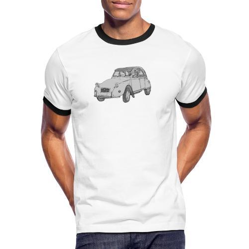 Ma Deuch est fantastique - T-shirt contrasté Homme