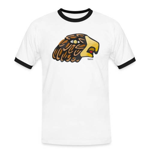 Aztec Icon Eagle - Men's Ringer Shirt