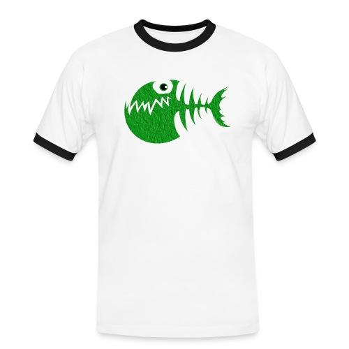 FISH BONE, Funny Sea Textiles, and Gifts for You - Miesten kontrastipaita