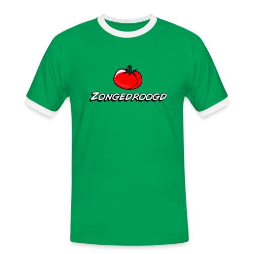 ZONGEDROOGD - Mannen contrastshirt