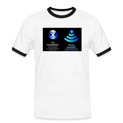 WIFI - Mannen contrastshirt