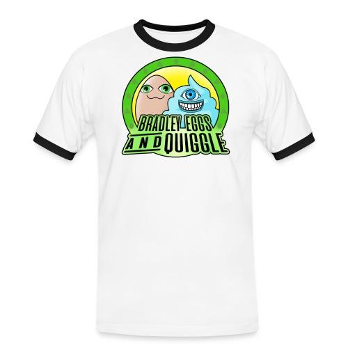 Bradley Eggs Quiggle Green Yellow png - Men's Ringer Shirt