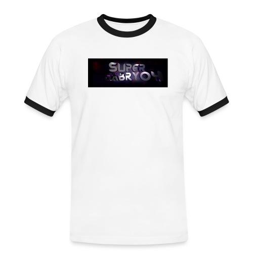 SUPERGABRY04 - Maglietta Contrast da uomo