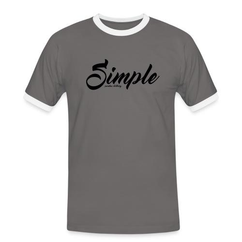 Simple: Clothing Design - Men's Ringer Shirt