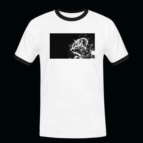 h11 - T-shirt contrasté Homme