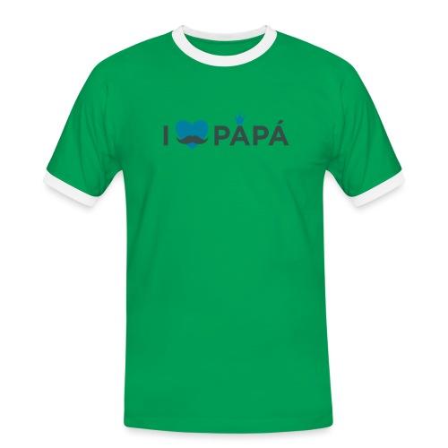 ik hoe van je papa - T-shirt contrasté Homme