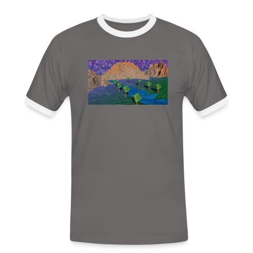 Silent river - Men's Ringer Shirt