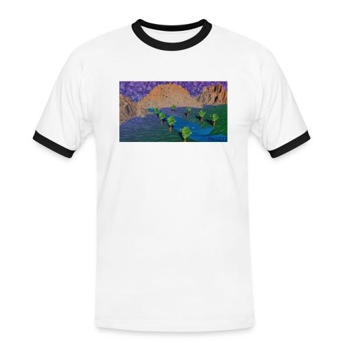 Silent river - Men's Ringer Shirt