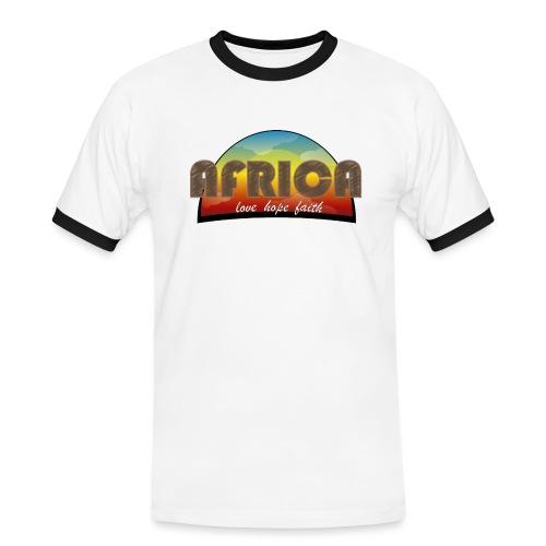 Africa_love_hope_and_faith - Maglietta Contrast da uomo